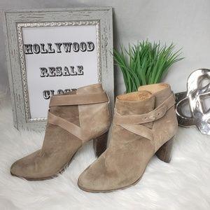 Comptoir Des Cotonniers Boots 9 40  suede leather